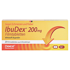 IbuDex 200mg 20 Stück N1 - Vorderseite