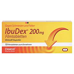 IbuDex 200mg 10 Stück - Vorderseite