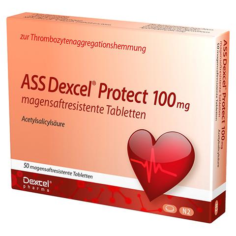 ASS Dexcel Protect 100mg 50 Stück N2