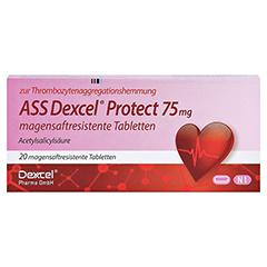 ASS Dexcel Protect 75mg 20 Stück N1 - Vorderseite