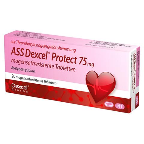 ASS Dexcel Protect 75mg 20 Stück N1