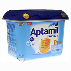 APTAMIL Pronutra Pre Anfangsmilch SAFEBOX Pulver 800 Gramm