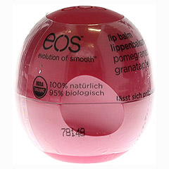 EOS Organic Lip Balm pomegranate raspberry Shrink 1 Stück