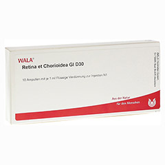 RETINA ET CHORIOIDEA GL D 30 Ampullen 10x1 Milliliter N1