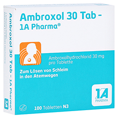 Ambroxol 30 Tab-1A Pharma 100 Stück N3