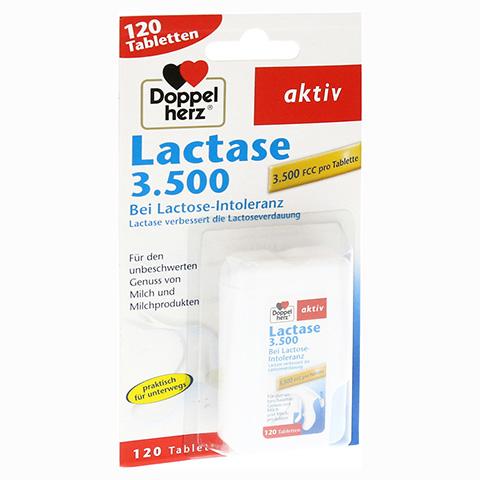 DOPPELHERZ Lactase 3.500 Tabletten 120 Stück