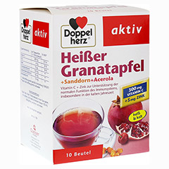 Doppelherz aktiv Heißer Granatapfel + Sanddorn + Acerola 10 Stück