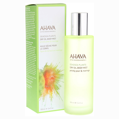 AHAVA Dry Oil Body Mist Prickly Pear & Moringa 100 Milliliter