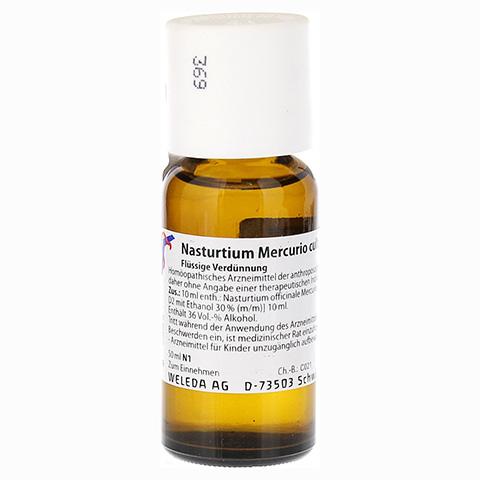 NASTURTIUM MERCURIO cultum D 2 Dilution 50 Milliliter N1