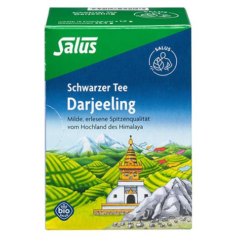 DARJEELING schwarzer Tee Bio Salus Filterbeutel 15 Stück