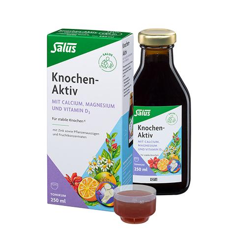 KNOCHEN-AKTIV Calcium+Magnesium Tonikum plus Salus 250 Milliliter