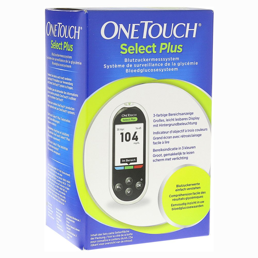 OneTouch Select Plus mg/dl 1 Stück