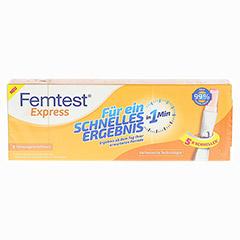FEMTEST Express Schwangerschaftstest 1 Stück - Vorderseite