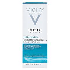 VICHY DERCOS Ultra-Sensitiv Shampoo fett.Haut 200 Milliliter - Vorderseite