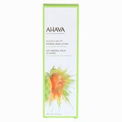 AHAVA Mineral Body Lotion Pear & Moringa 250 Milliliter - Vorderseite