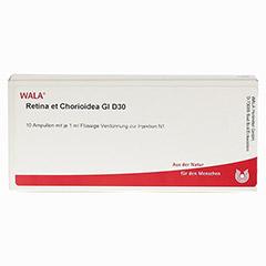 RETINA ET Chorioidea GL D 30 Ampullen 10x1 Milliliter N1 - Vorderseite