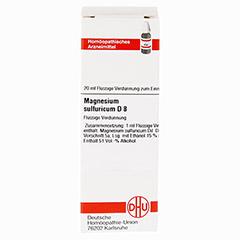 MAGNESIUM SULFURICUM D 8 Dilution 20 Milliliter N1 - Vorderseite