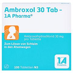Ambroxol 30 Tab-1A Pharma 100 Stück N3 - Vorderseite