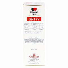 DOPPELHERZ Magnesium+Calcium+D3 Tabletten 40 Stück - Linke Seite