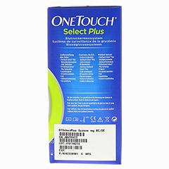 ONETOUCH SelectPlus Blutzuckermesssystem mg/dl 1 Stück - Rechte Seite