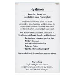 HYALURON Wirkkonzentrat Anti-Falten+Beruhigung 13 Milliliter - Rückseite