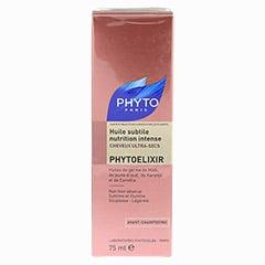 PHYTOELIXIR leichtes Öl für intensive Regeneration 75 Milliliter - Rückseite