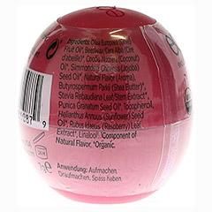 EOS Organic Lip Balm pomegranate raspberry Shrink 1 Stück - Rückseite