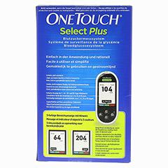 ONETOUCH SelectPlus Blutzuckermesssystem mg/dl 1 Stück - Rückseite