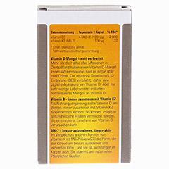PROSAN Vitamin D3+K2 4.000 I.E. Kapseln 30 Stück - Rückseite
