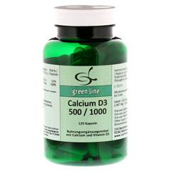 CALCIUM D3 500/1.000 Kapseln 120 Stück