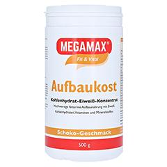 MEGAMAX Aufbaukost Schoko Pulver 500 Gramm