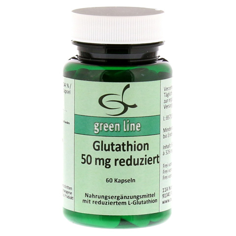GLUTATHION 50 mg reduziert Kapseln 60 Stück