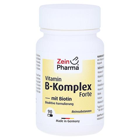 VITAMIN B Komplex+Biotin Forte Kapseln 90 Stück