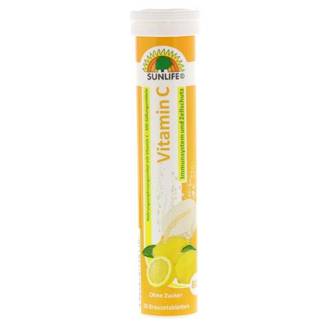 SUNLIFE Vitamin C Brausetabletten 20 Stück
