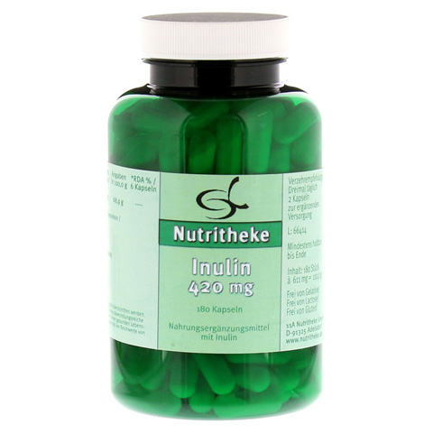 INULIN 420 mg Kapseln 180 Stück