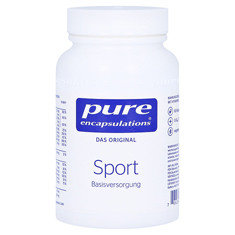 PURE ENCAPSULATIONS Sport Pure 365 Kapseln 60 Stück
