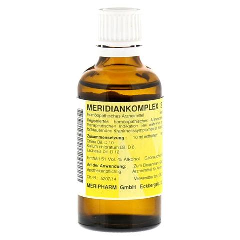 MERIDIANKOMPLEX 3 Tropfen zum Einnehmen 50 Milliliter N1