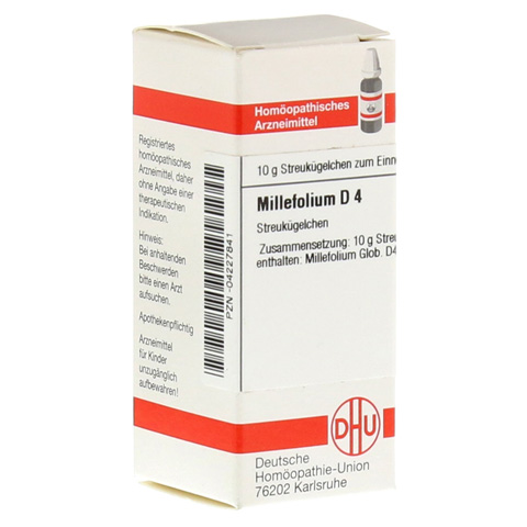 MILLEFOLIUM D 4 Globuli 10 Gramm N1