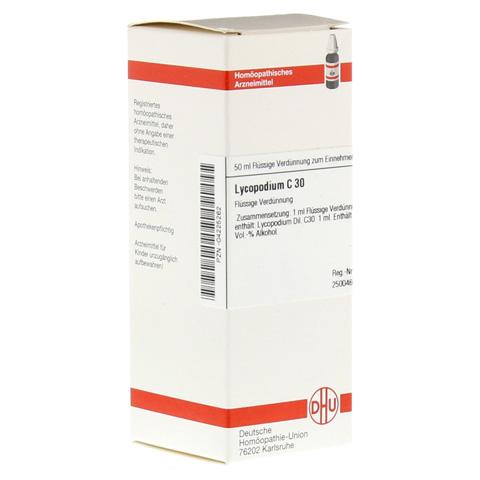 LYCOPODIUM C 30 Dilution 50 Milliliter