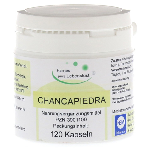 CHANCAPIEDRA Vegi Kapseln 120 Stück