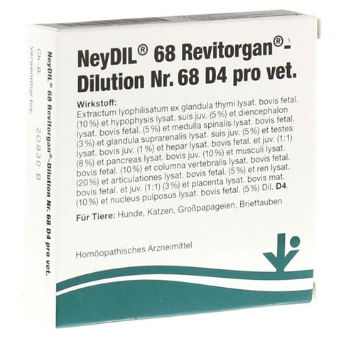 NEYDIL Nr.68 Revitorgan Dil.D 4 pro Ampullen vet. 5x2 Milliliter
