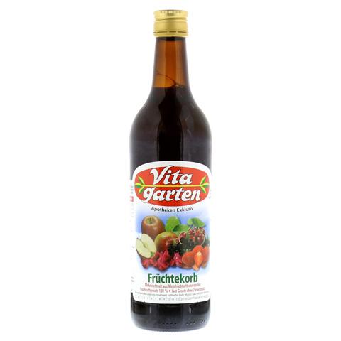 VITAGARTEN Früchtekorb Saft 750 Milliliter