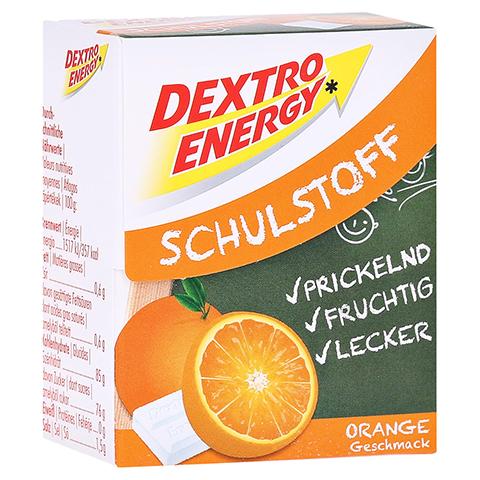 DEXTRO ENERGY Schulstoff Orange Täfelchen 50 Gramm