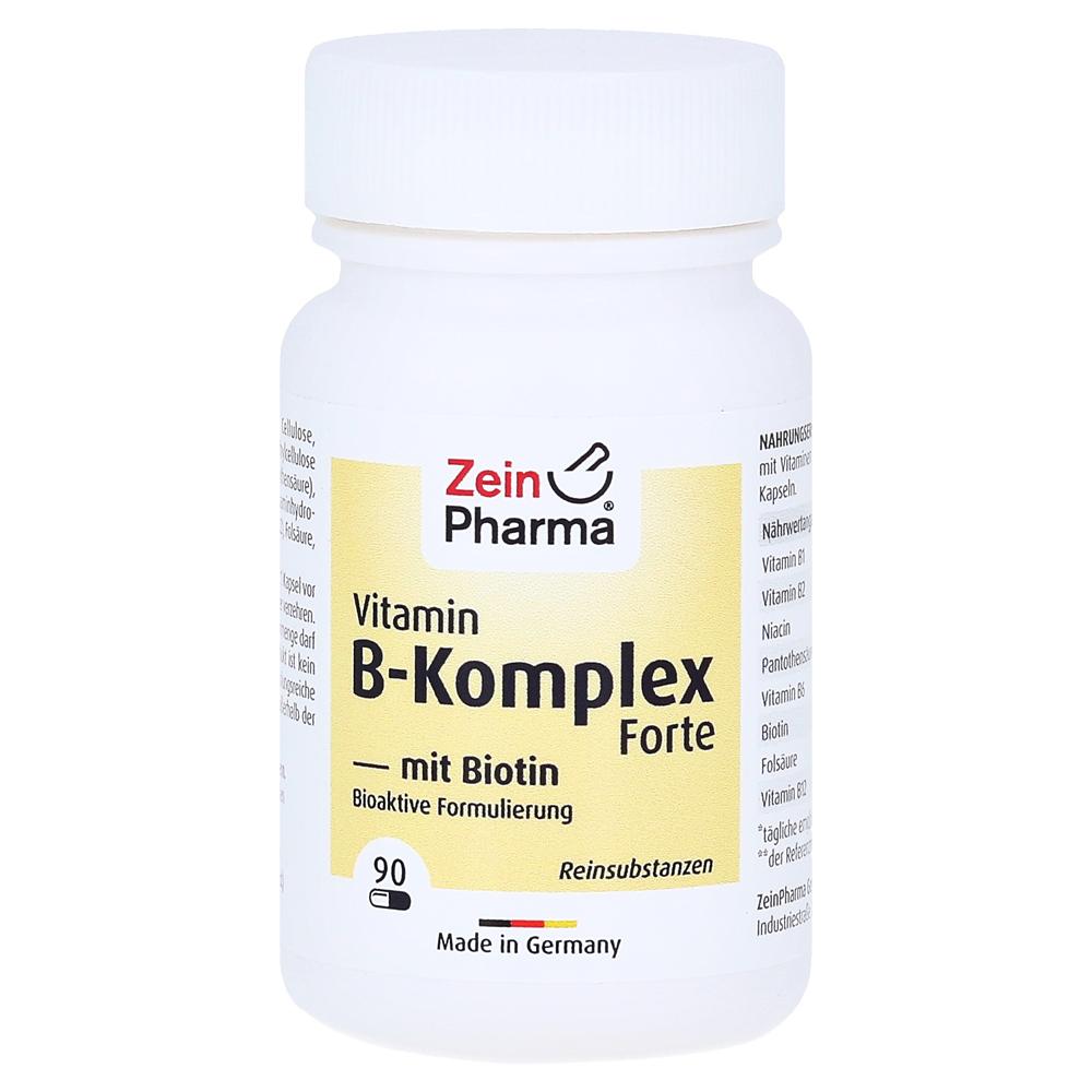 vitamin b komplex biotin forte kapseln 90 st ck online. Black Bedroom Furniture Sets. Home Design Ideas