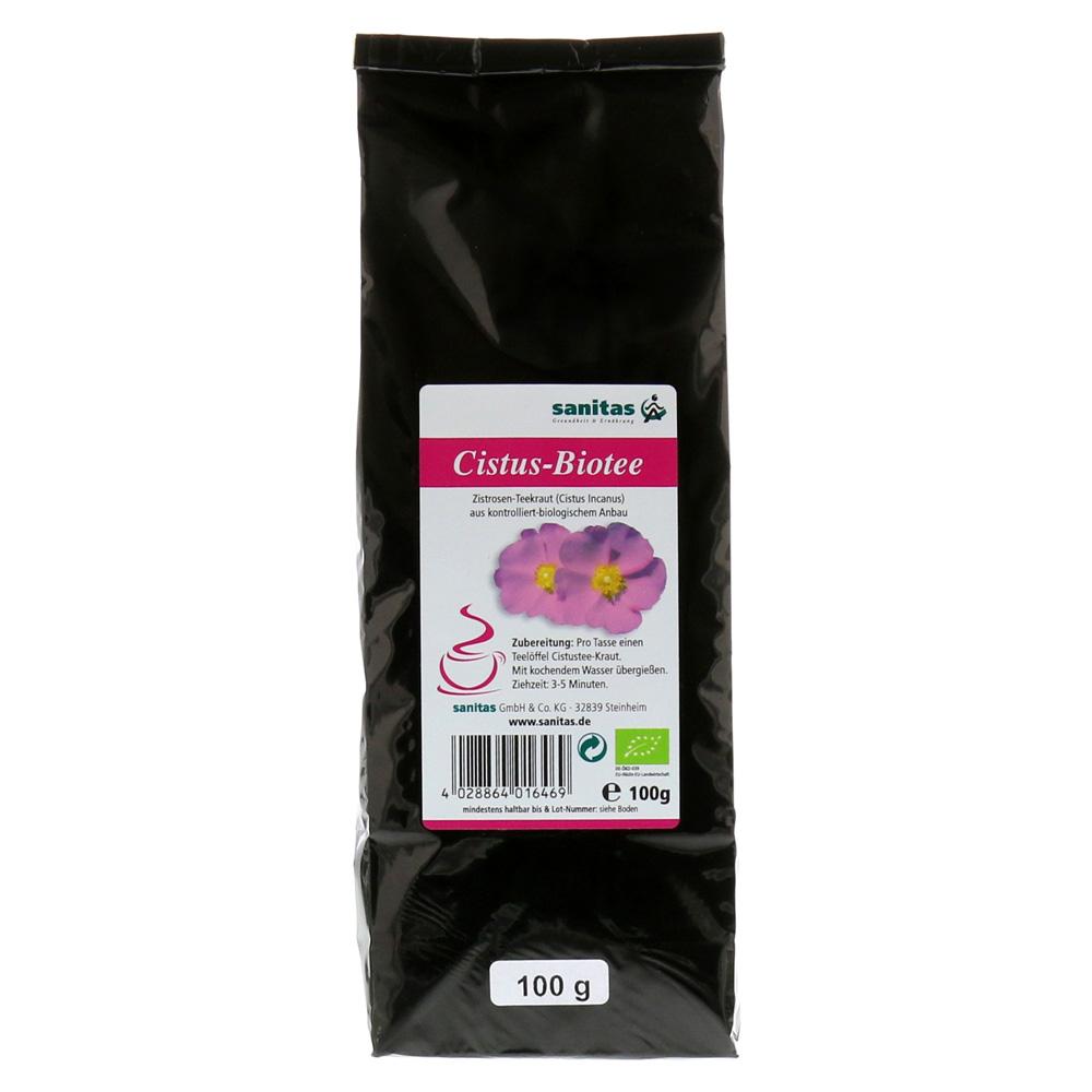 cistus-bio-tee-100-gramm