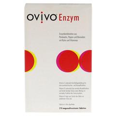 OVIVO Enzym magensaftresistente Tabletten 210 Stück - Vorderseite
