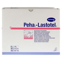 PEHA-LASTOTEL Fixierbinde 8 cmx4 m 20 Stück - Vorderseite