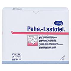 PEHA-LASTOTEL Fixierbinde 10 cmx4 m 20 Stück - Vorderseite
