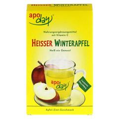 Apoday Heißer Winterapfel Vitamin C Pulver 10x10 Gramm - Vorderseite