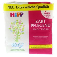 HIPP Baby SANFT Feuchttücher 4x56 Stück - Vorderseite